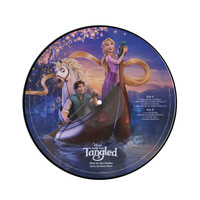 Disney Songs From Tangled Vinyl LP Hot Topic Exclusive