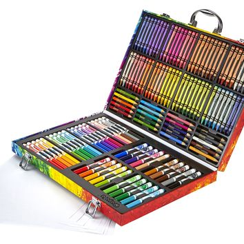 Crayola Inspiration Art Case: 140 Pieces Art Set Gifts for Kids and Adults