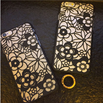 Sexy Hollowed Out iPhone 6S 6 Plus creative case Best Gift