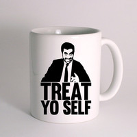 Treat Yo Self for Mug Design