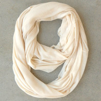 Cozy Loop Scarf in Beige [4524] - $16.20 : Vintage Inspired Clothing & Affordable Dresses, deloom | Modern. Vintage. Crafted.