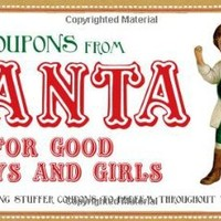Coupons from Santa for Good Boys and Girls: Stocking stuffer coupons to redeem throughout the year!