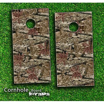Camouflage V2 Skin-set for a pair of Cornhole Boards
