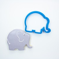 Chubby Elephant Cookie Cutter