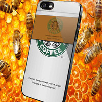 Starbucks Coffee Cup  for iPhone 4/4S/5/5S/5C Case, Samsung Galaxy S3/S4/S5 Case, iPod Touch 4/5 Case