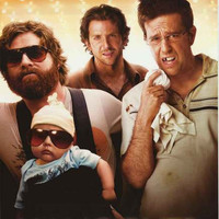 The Hangover Movie Cast Poster 24x36
