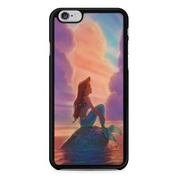 Sunset Ariel The Little Mermaid iPhone 6/6s Case
