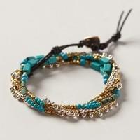 Suay Wrap Bracelet by Anthropologie Turquoise One Size Bracelets