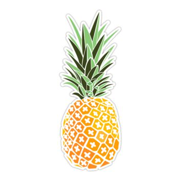 Cute Pineapple Sticker