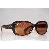 RAY-BAN Womens Designer Sunglasses Brown Jackie Ohh RB 4101 710/4I 16876