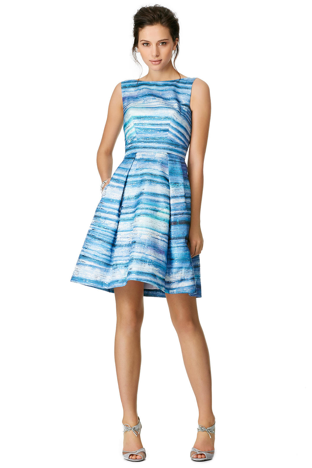 Theia blue gradient dress from rent the runway miami for Rental wedding dresses in miami