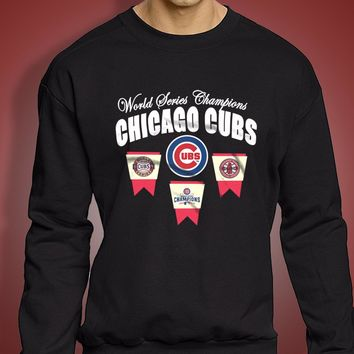 New 2016 World Series Champions Chicago Cubs Graphic Men'S Sweatshirt