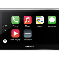 "AppRadio 4 (SPH-DA120) - Smartphone Receiver with 6.2"" Capacitive Touchscreen Display, Apple CarPlay™, Bluetooth®, Siri® Eyes Free, Android™ Music Support, Pandora®, FLAC Audio Support, and On-Screen Access to Compatible Apps"