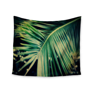 """Angie Turner """"Palm Frond"""" Green Nature Wall Tapestry"""
