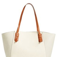 Sole Society Faux Leather Trapeze Tote | Nordstrom