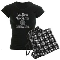 Mrs. Dean Winchester Supernatural Pajamas by SupernaturalMrsDeanWinchester