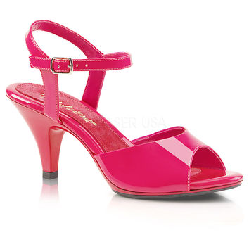 Fabulicious Hot Pink Belle Heels