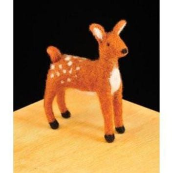 WoolPets Fawn Needle Felting Craft Kit