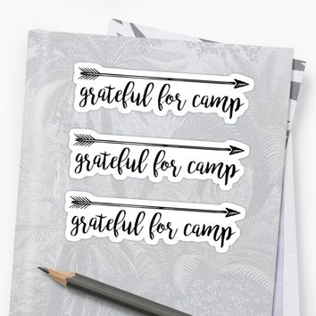 'CAMP' Sticker by MadEDesigns