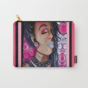 LOVE SICK Carry-All Pouch by violajohnsonriley