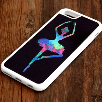 Dancing Ballet Girl iPhone 6 Plus 6 5S 5 5C 4S 4S 4 Rubber Case 440