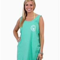 Southern Shirt Company Signature Tank Top in Biscay