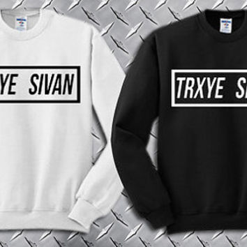TRXYE Sivan Custom Crewneck Sweatshirt for Unisex adult made by USA