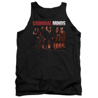 CRIMINAL MINDS/THE CREW - ADULT TANK - BLACK -