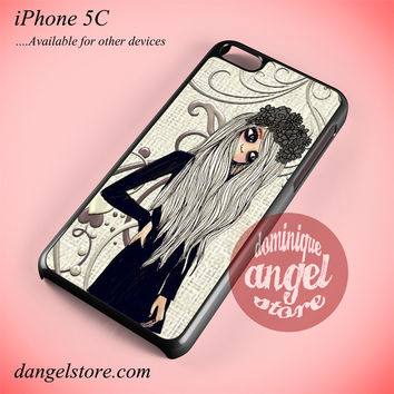 Emo Girl Phone case for iPhone 5C and another iPhone devices