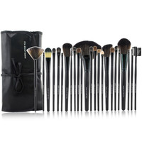 Professional Black 24-Piece Essential Brush Collection