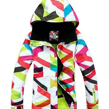APTRO Women's Waterproof Snowboard Ski Jacket Windproof Snow Jacket 1405-064 M