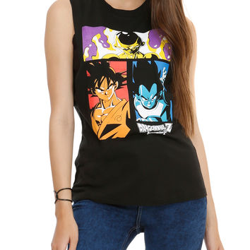 Dragon Ball Z Resurrection 'F' Girls Muscle Top 3XL