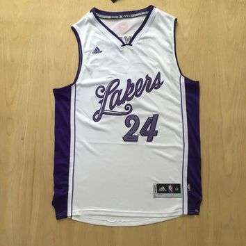 KUYOU Los Angeles Lakers Kobe Bryant 15/16 Christmas 100% Authentic Jersey