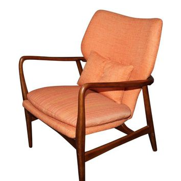Pre-owned Danish Mid-Century Lounge Chair