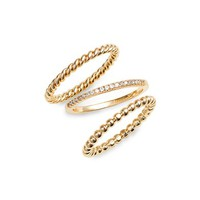 Melanie Auld Balia Set of 3 Stackable Rings | Nordstrom