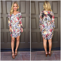 Fleur Passion Shift Dress