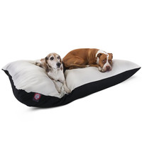 42x60 Black Rectangle Dog Bed-Extra Large