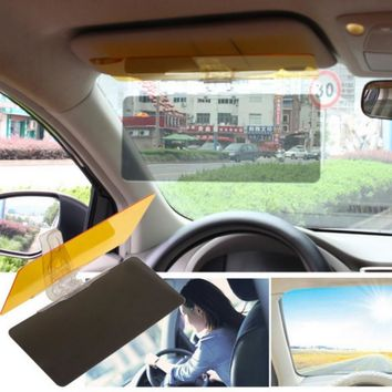 New Hot Sale Car Protective Parasol Sun Shade Sunshade Shield Mirror Clip Night Vision Free Shipping