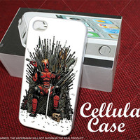 deadpool for iphone, samsung galaxy and ipod touch cases