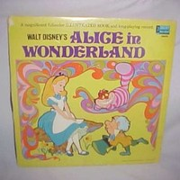 1969 Walt Disney's Alice in Wonderland [Vinyl LP Record]