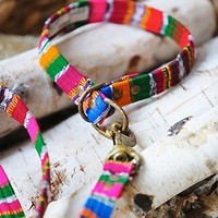 Beast + Babe Womens Christmas in Jamaica Collar