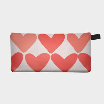 Heart Pencil Case Pouch