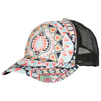 Billabong Women's Tiles N Tides Trucker Hat Black/White One
