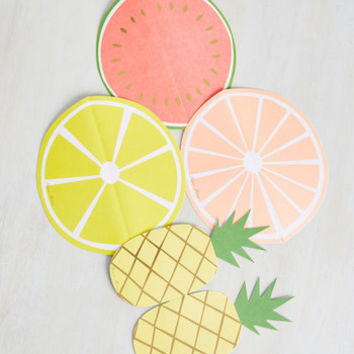 The Moment of Fruit Notecard Set | Mod Retro Vintage Desk Accessories | ModCloth.com