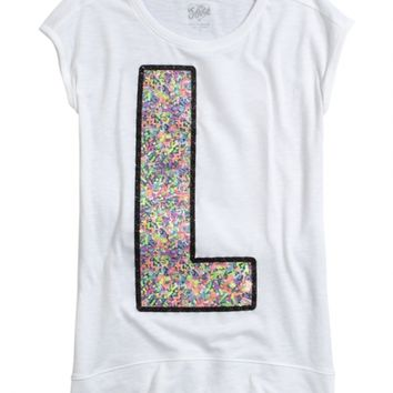 SHORT SLEEVE INITIAL TEE | GIRLS 18 INCH DOLL CLOTHES BEAUTY, ROOM & TOYS | SHOP JUSTICE