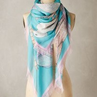 CJW Newport Silk Scarf in Multi Size: One Size Scarves