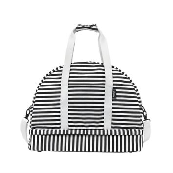 The Weekender Bag in Stripe