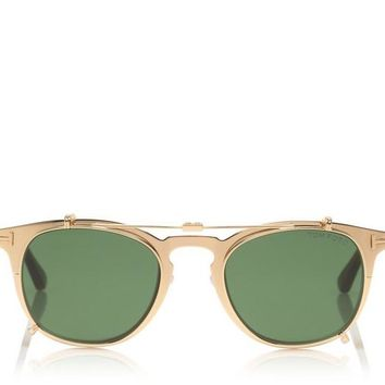 GOLD PLATED SUNGLASSES
