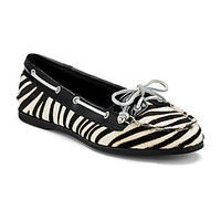 Sperry Top-Sider Audrey Zebra-Print Boat Shoes | Dillards.com