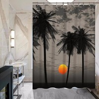 Coconut Tree Polyester Shower Curtains - Various styles